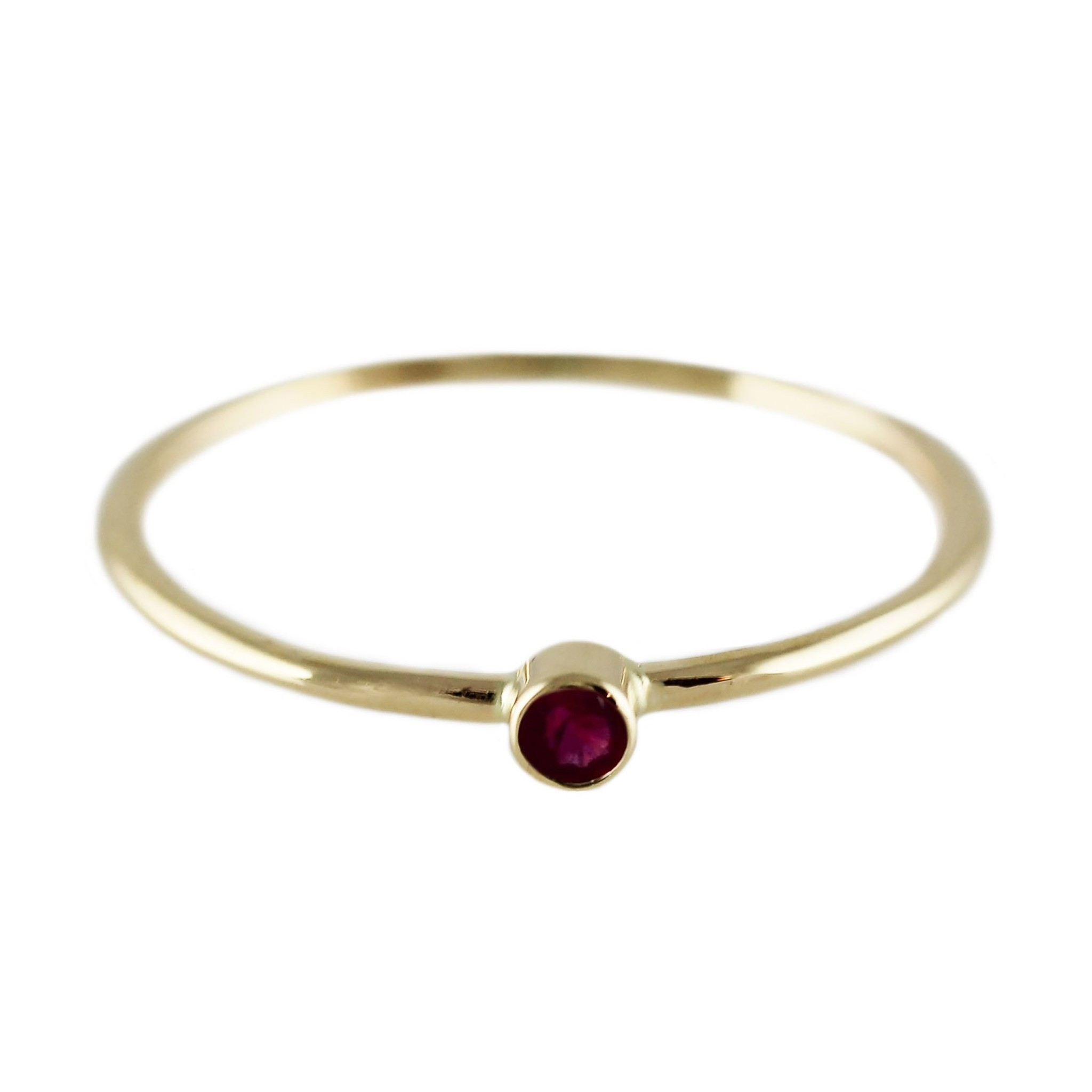 Lumo Lumo Single Ruby Ring