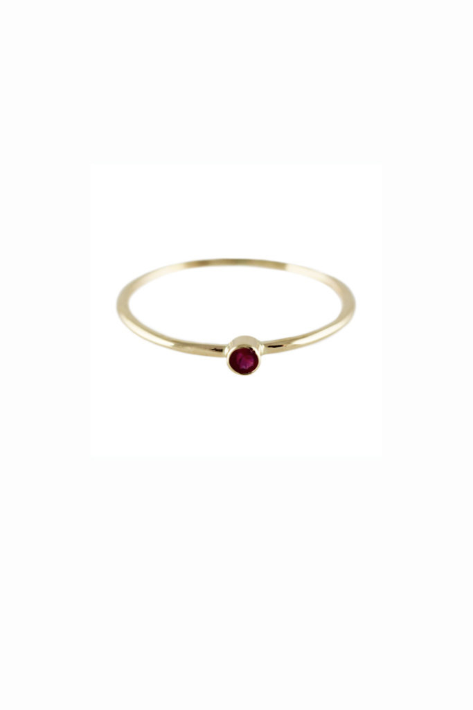 Lumo Lumo Single Ruby Ring