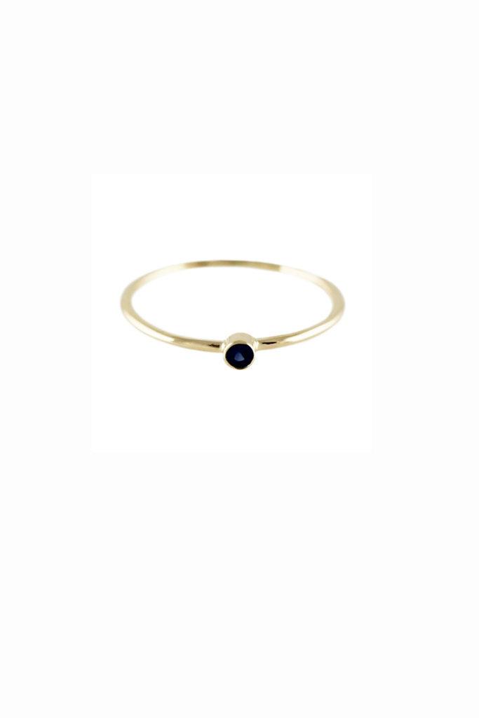 Lumo Single Sapphire Ring