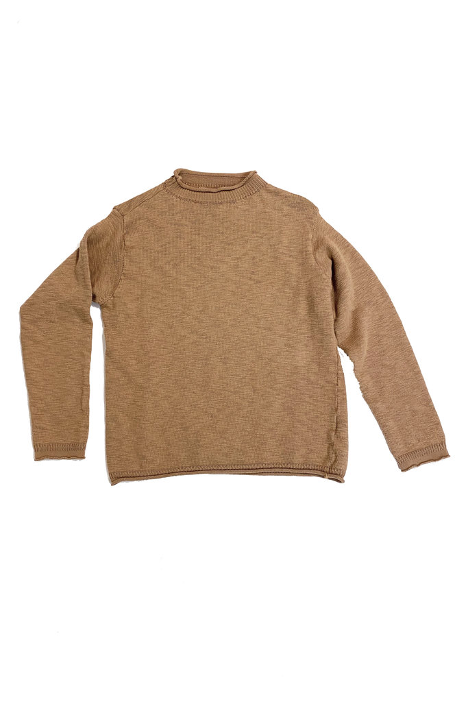 Cotton Mockneck Sweater