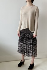 vanessa Bruno Vanessa Bruno Hernani Tiered  Patchwork Skirt