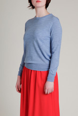 Fine Gauge Wool Crewneck Sweater