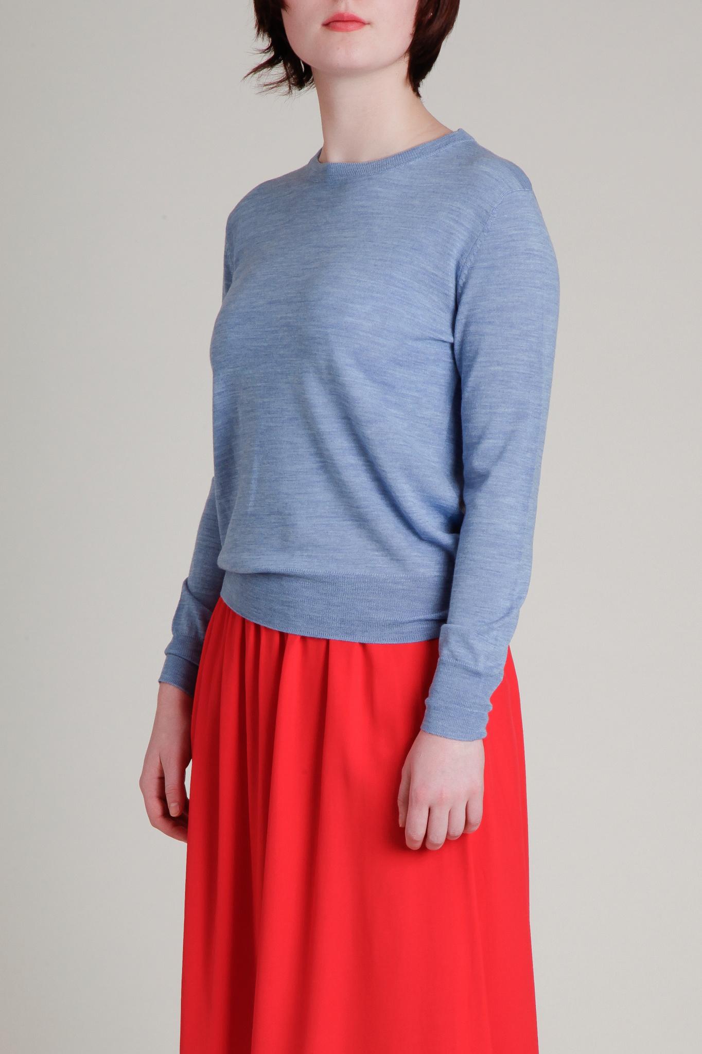 Sessun Fine Gauge Wool Crewneck Sweater