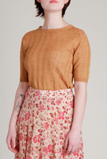 masscob Panel Seamed Flowy Floral Skirt