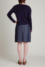 Soeur Denim Button Down Skirt