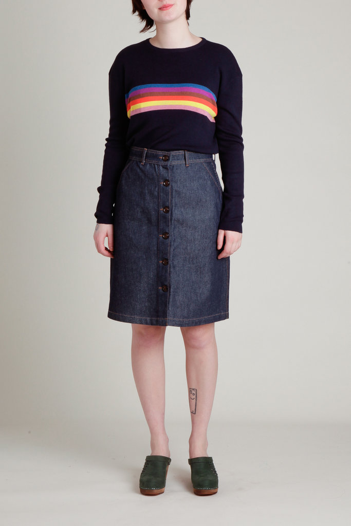 Soeur Egypte Denim Skirt