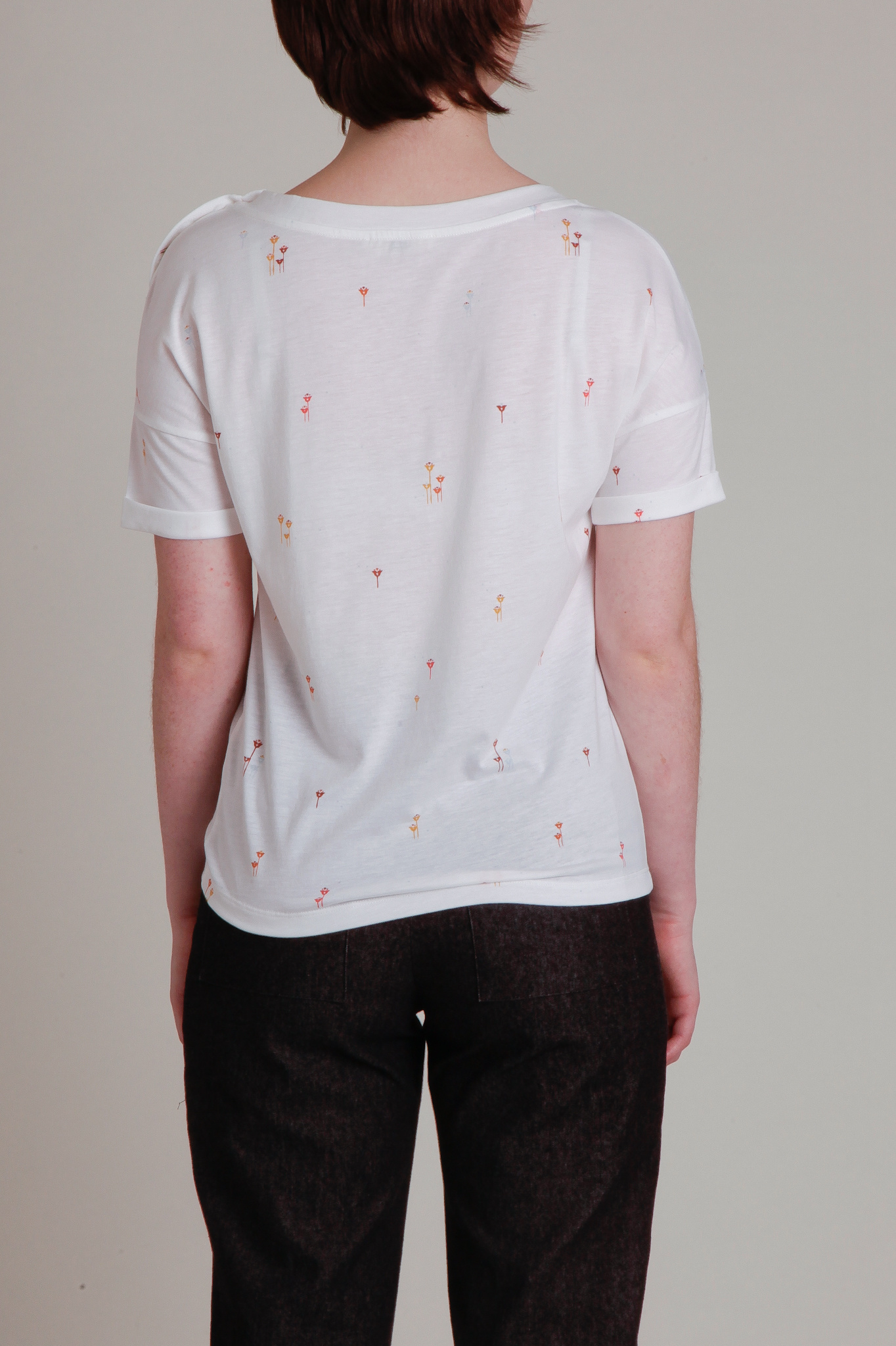 Short Sleeve Drop Shoulder Tee