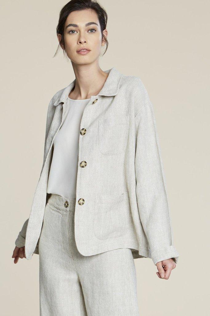 filosofia Alexis Spring  Linen Jacket