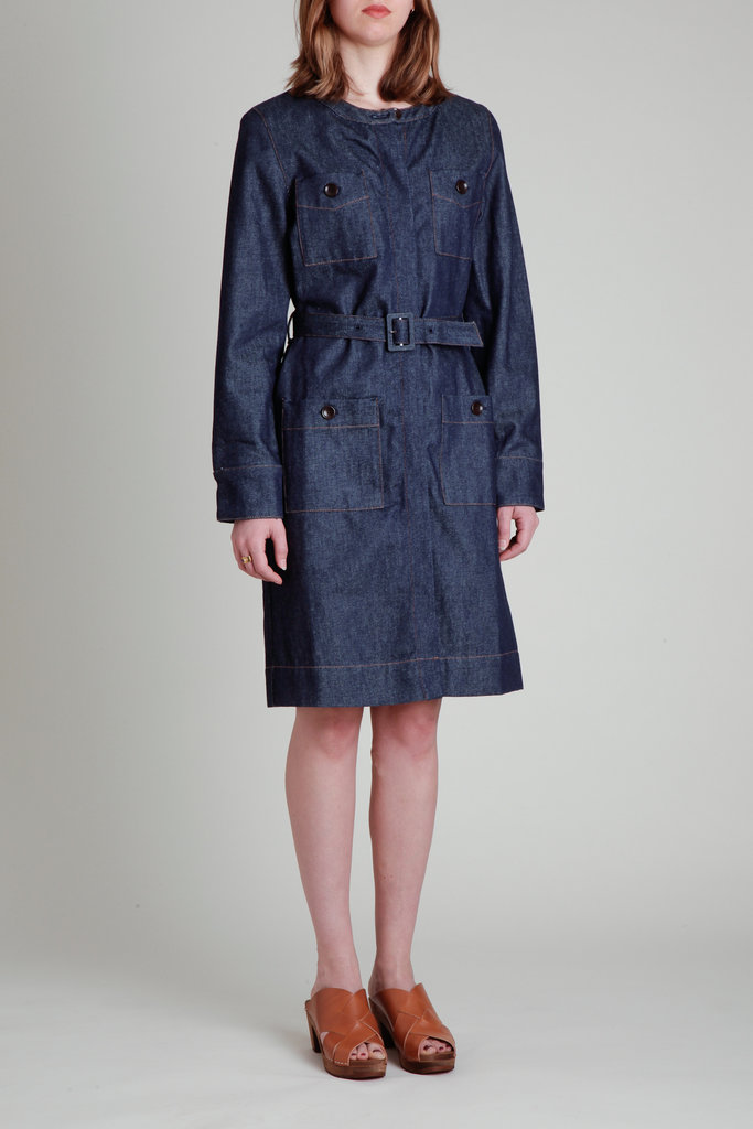 Soeur Denim Shirt Dress