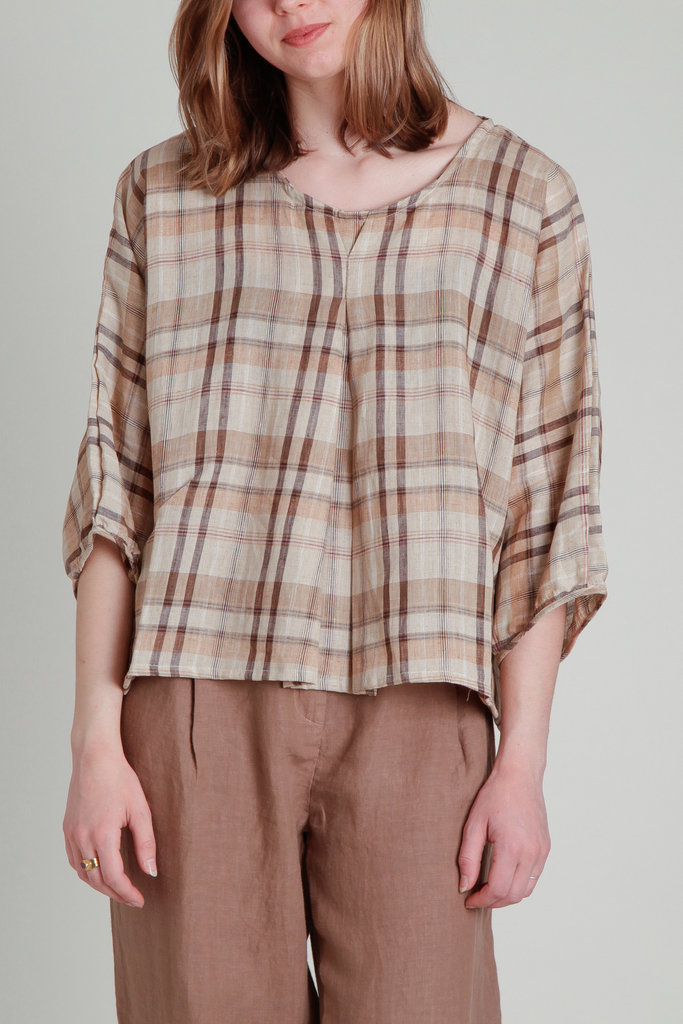 Moskiddos Oversized Woven Top- Multiple Colors