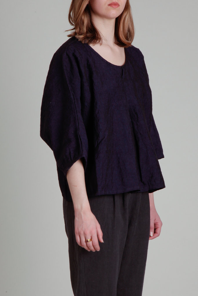 Moskiddos Moskiddos Oversized Woven Top- Multiple Colors