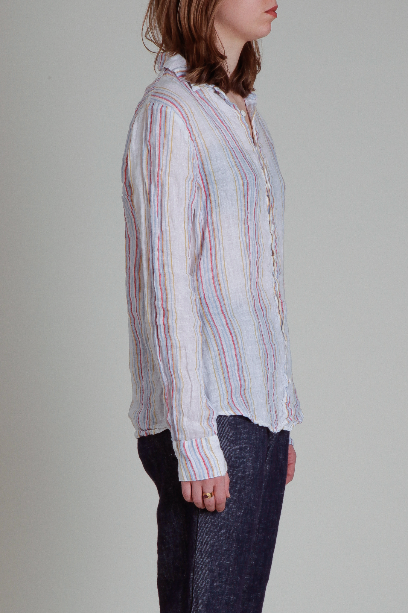 CP Shades Romy Striped Linen Shirt