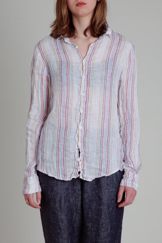 Romy Striped Linen Shirt