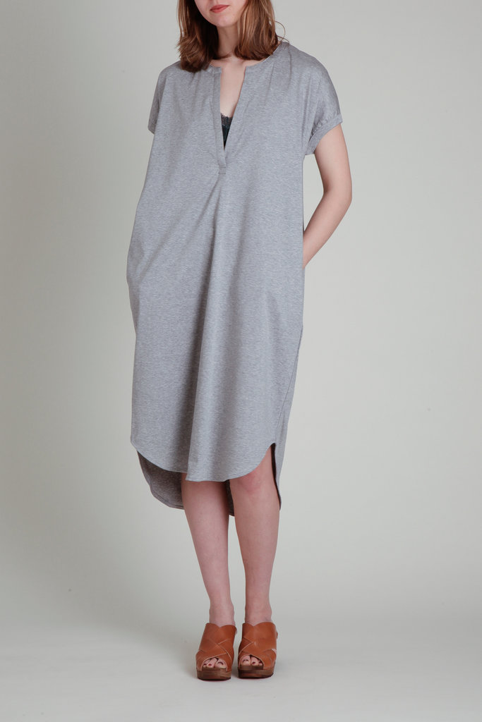 CT Plage CT Plage Cotton Jersey Drape Dress