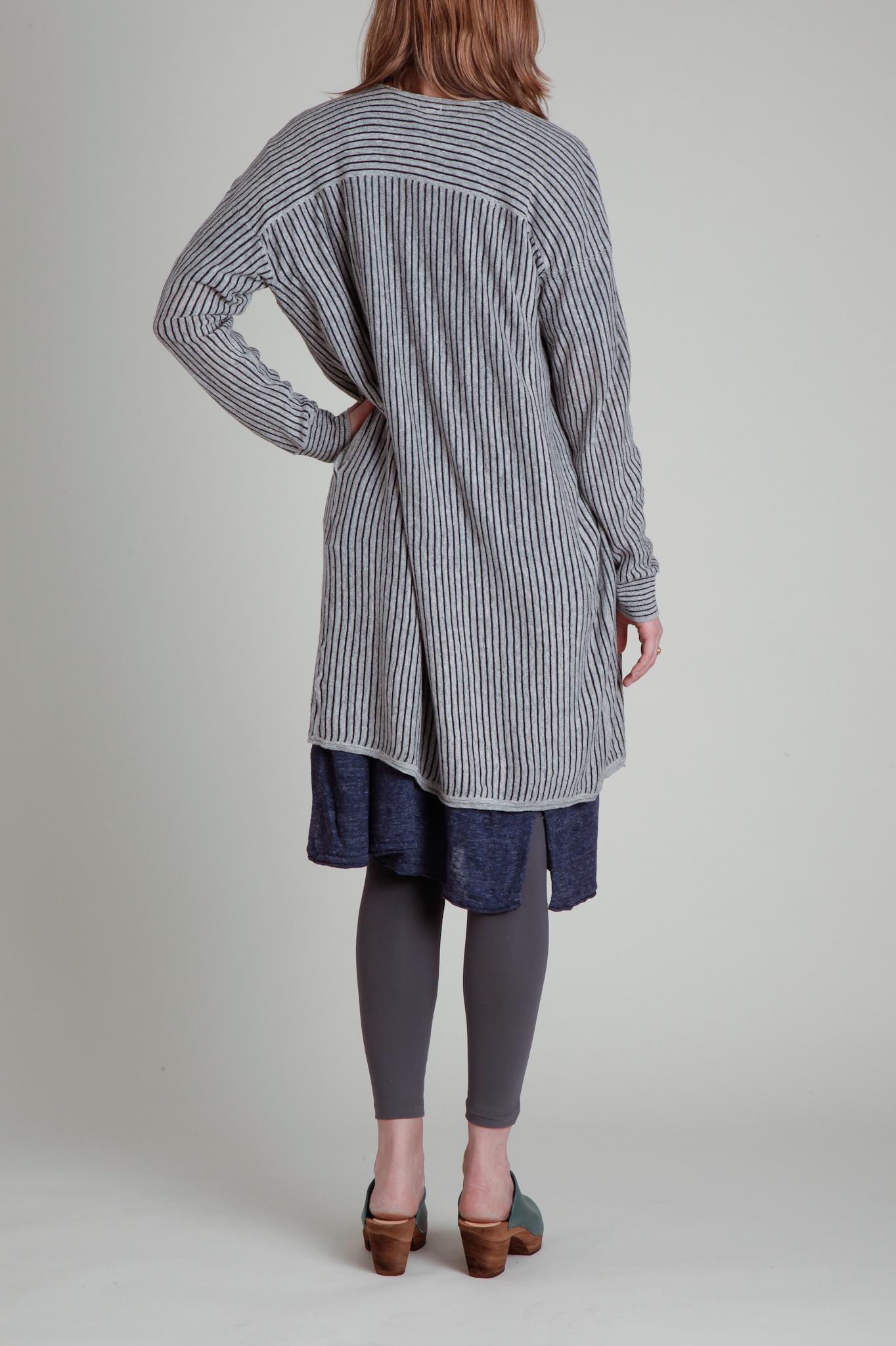 CT Plage CT Plage Long Sleeve Linen Cardigan