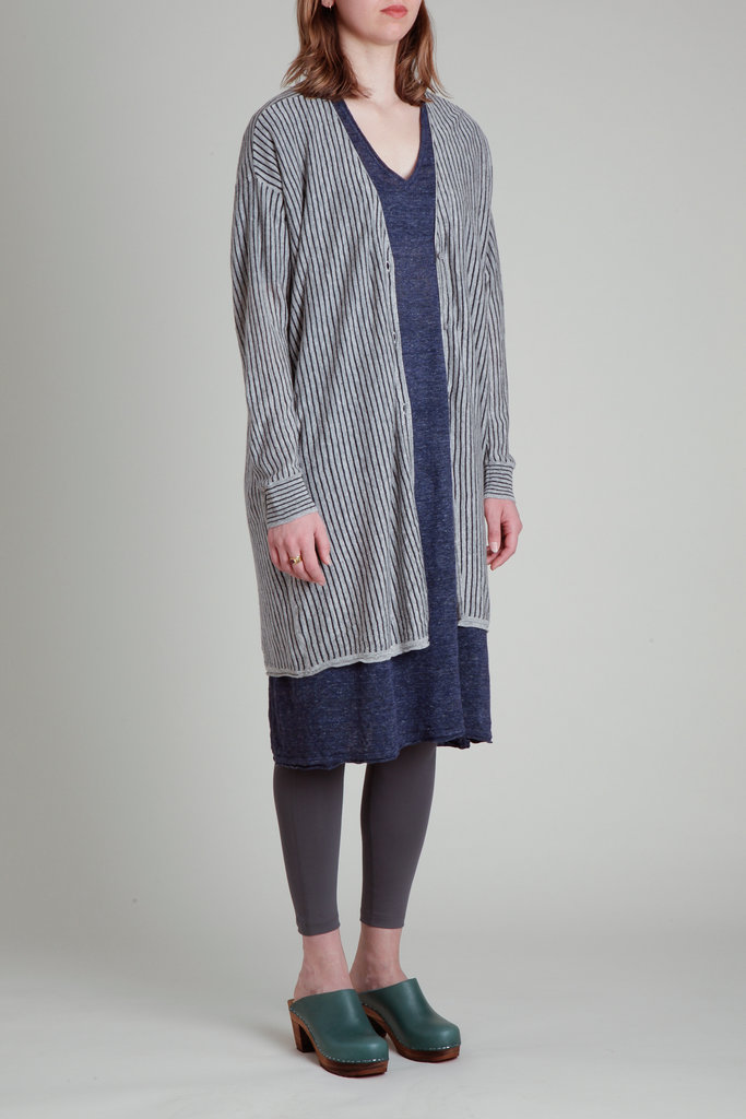 CT Plage CT Plage Long Sleeve Linen Cardigan