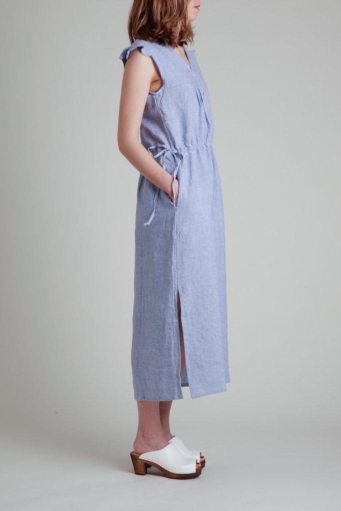 Moskiddos Moskiddos Atrani Cap Sleeve Midi Dress