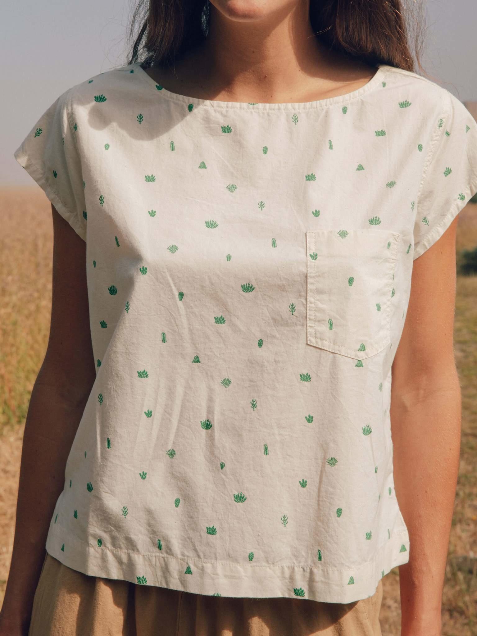 Mollusk Printed Cotton Top