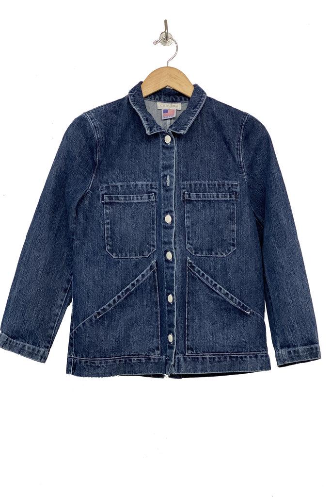 Carleen Triangle Pocket Denim Jacket