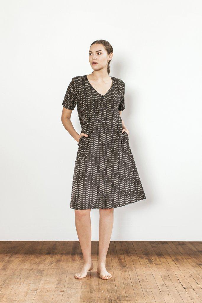 Ace & Jig Short Sleeve Cotton Dress