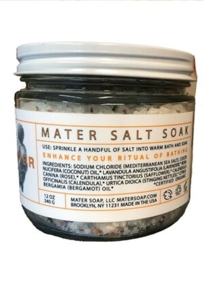 Mater Soap Mater Salt Soak