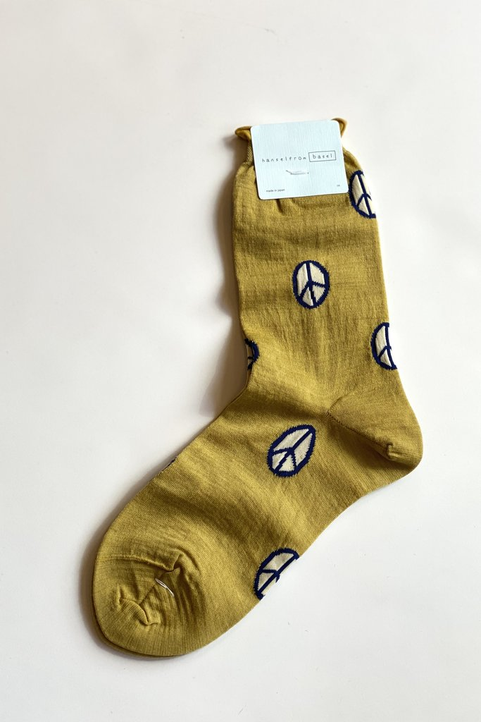 Hansel From Basel Patterned Crew Socks