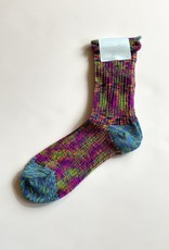 Hansel From Basel Hansel From Basel Mixed Rainbow Crew Socks