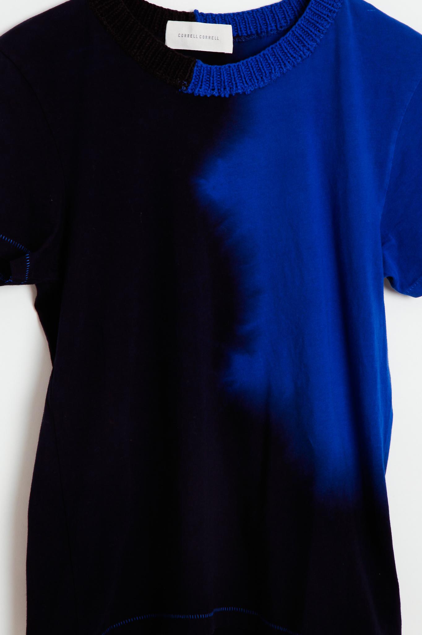 Correll Correll Correll Correll Hand Dyed Cotton T- Shirt