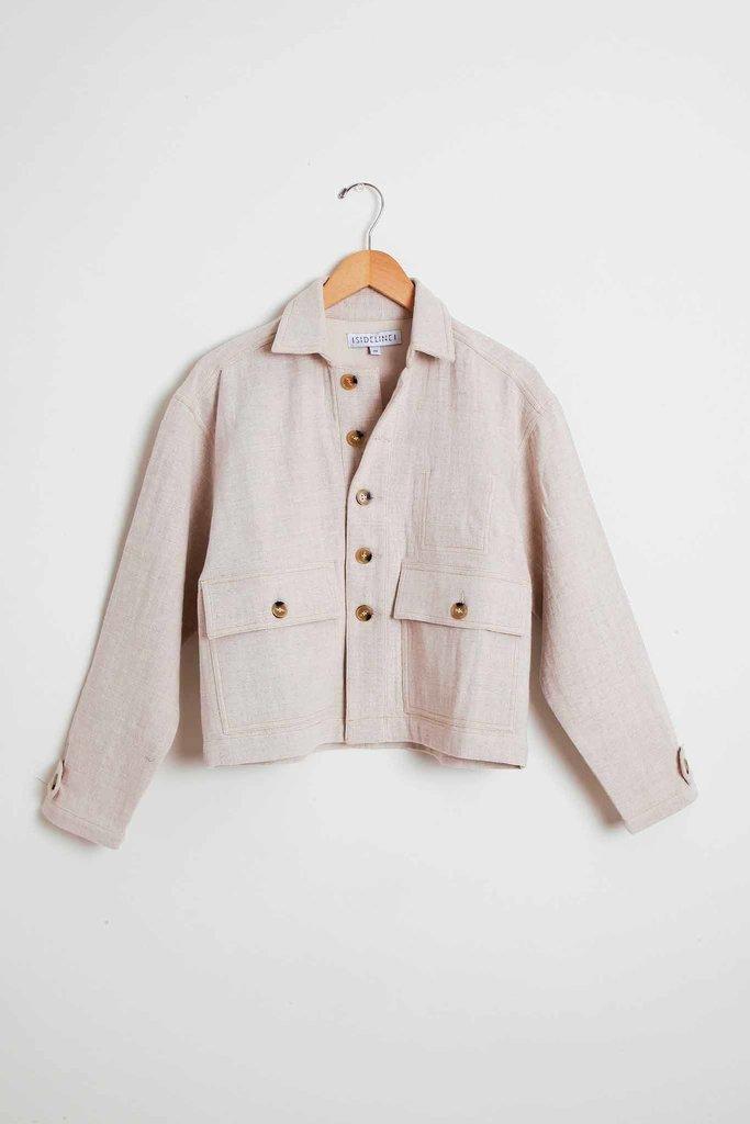 Sideline Hettie Cotton Linen Spring Jacket