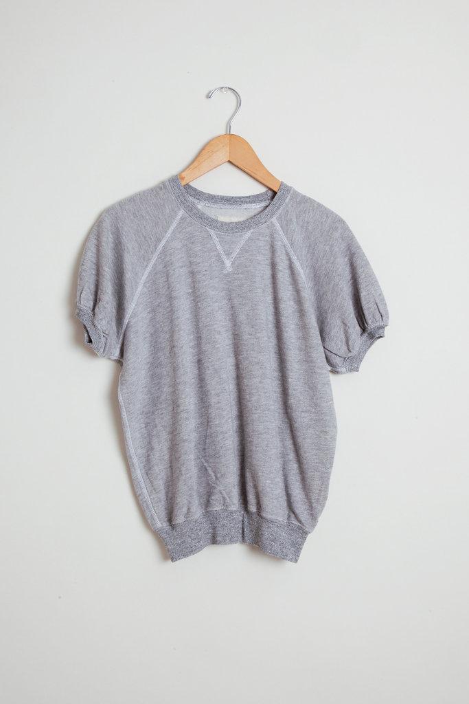 Short Sleeve Puff Sweatshirt