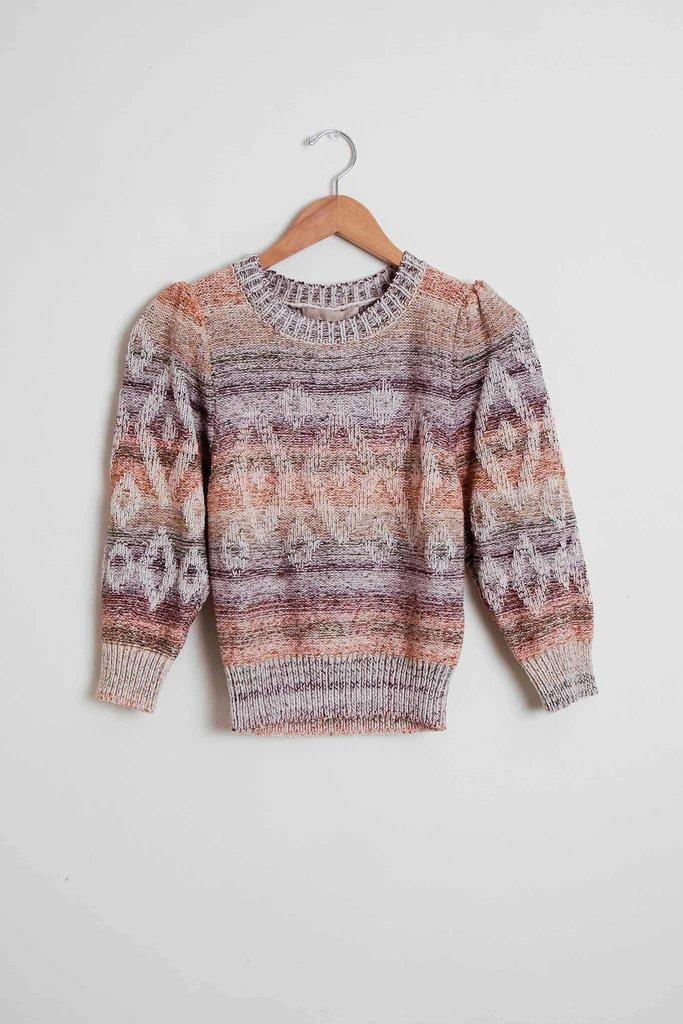 vanessa Bruno Intarsia sunset Stripe Sweater