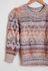 vanessa Bruno Vanessa Bruno Intarsia sunset Stripe Sweater