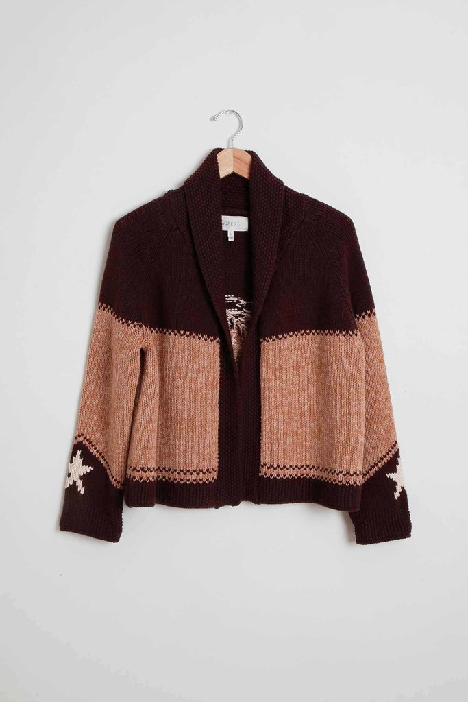 Cowgirl Shawl Cardigan