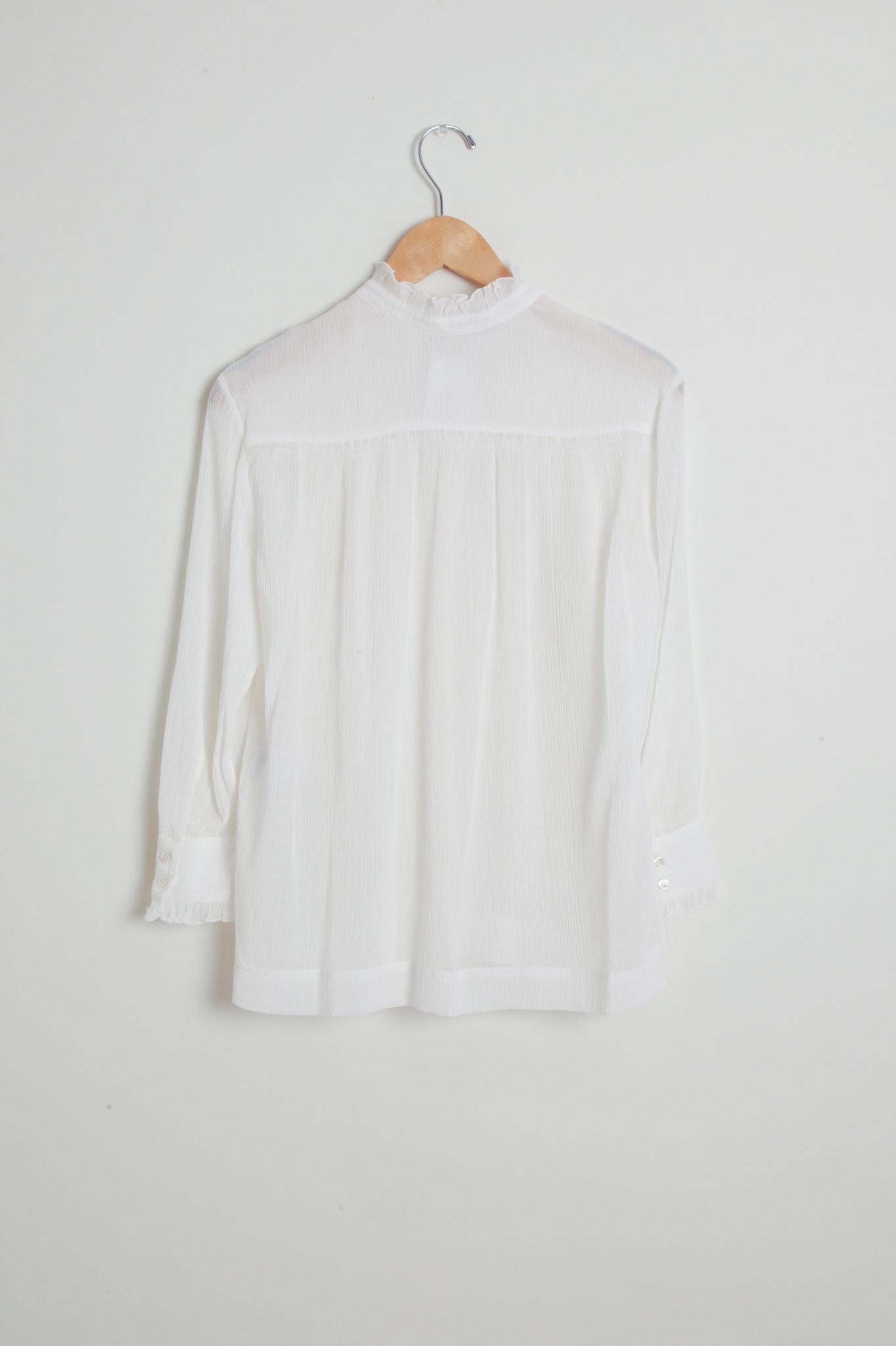 vanessa Bruno Nina Cotton and Silk Blouse - Size 40
