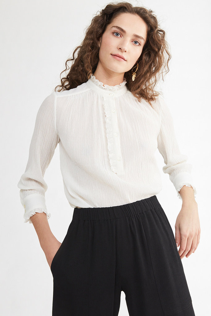 vanessa Bruno Vanessa Bruno Nina Cotton and Silk Blouse