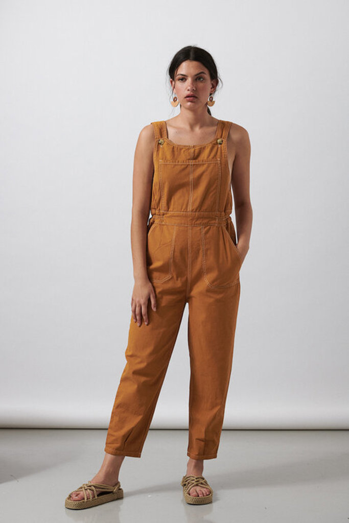 Sideline Cotton Overalls
