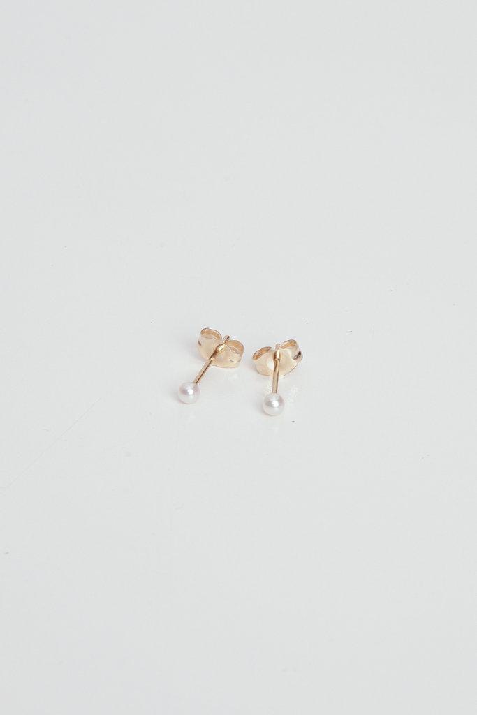Hortense Mini Pearl Studs
