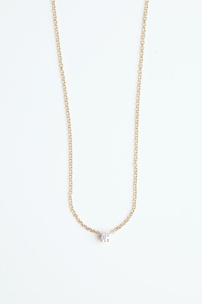 Hortense Tiny diamond Necklace