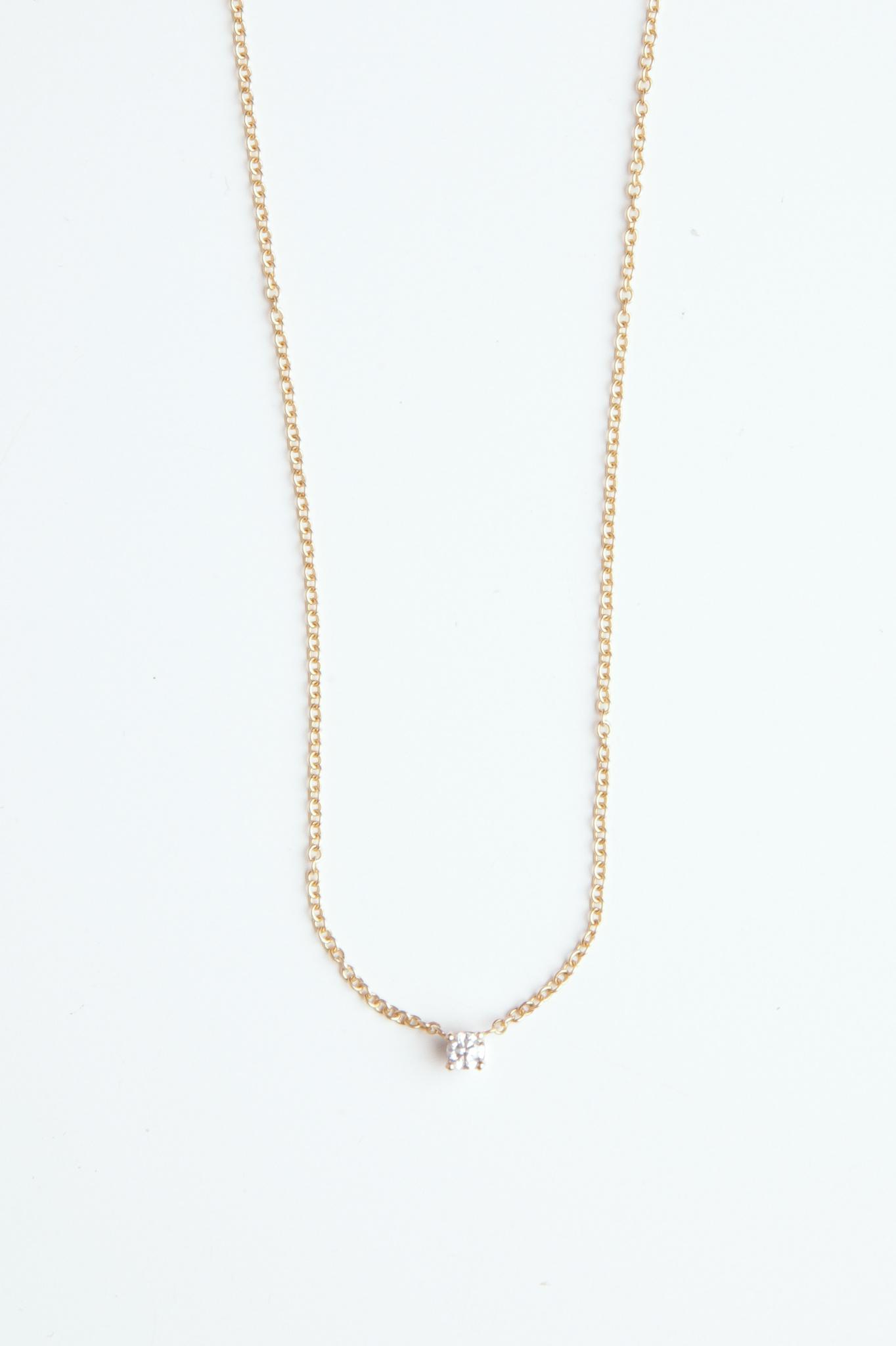Hortense Hortense Tiny diamond Necklace