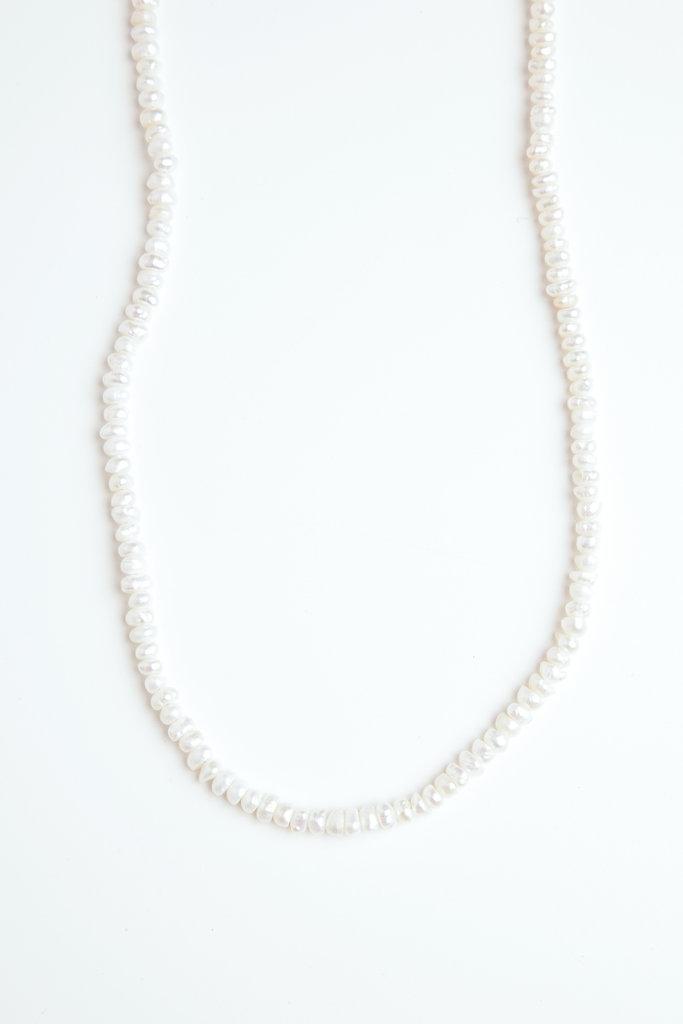 Vermeer fresh water pearl necklace