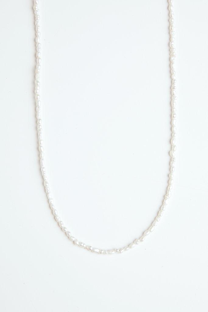 Vermeer Rice Pearl Necklace