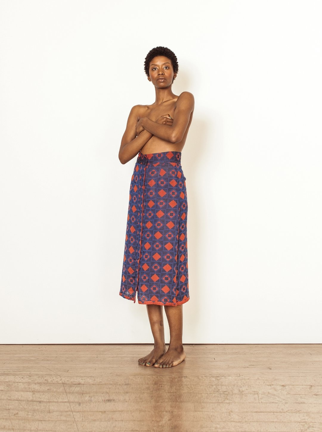 Ace & Jig Ace & Jig Bo High-waisted Midi Skirt
