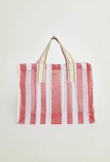 Bellerose Mesh Striped Tote Bag