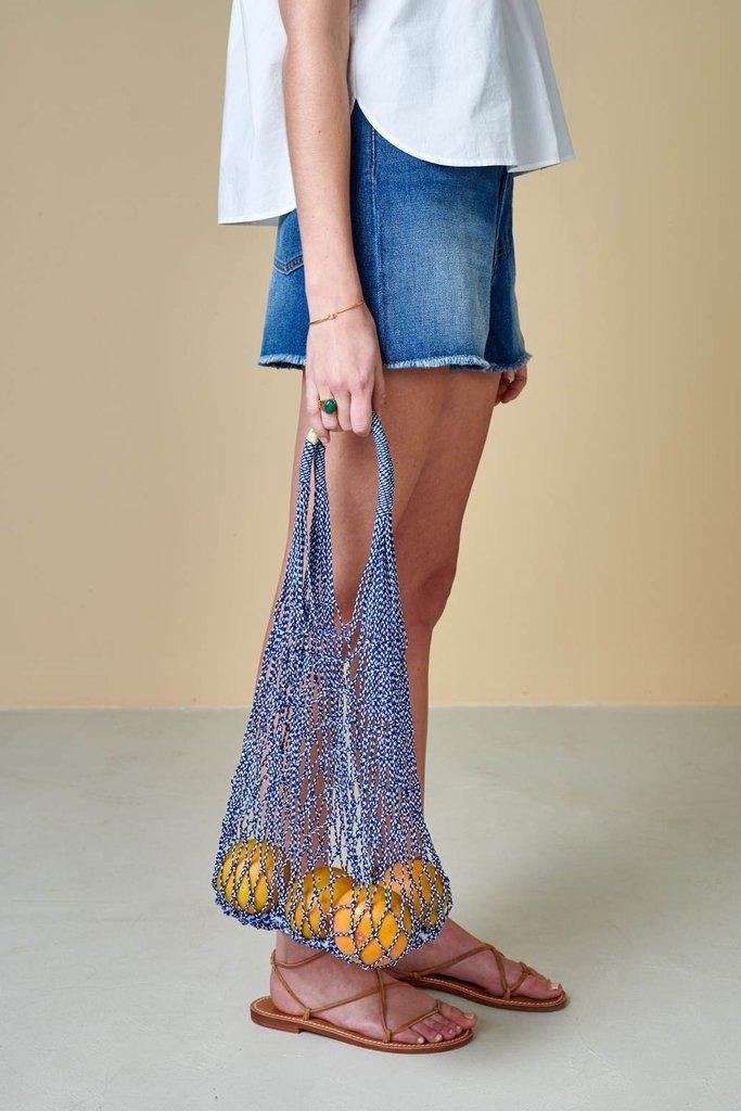 Bellerose Crochet Mesh Tote Bag