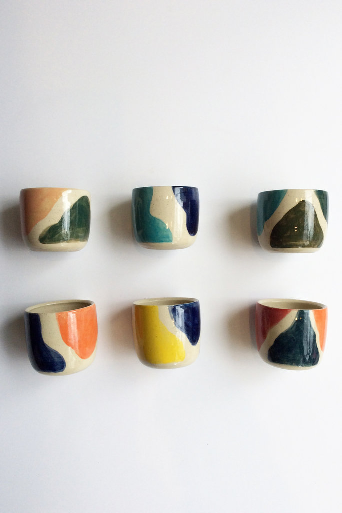 Alice Cheng Studio Shapes Ceramic cups