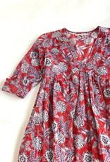 Xirena Xirena Daylen Tiered Cotton Floral Dress