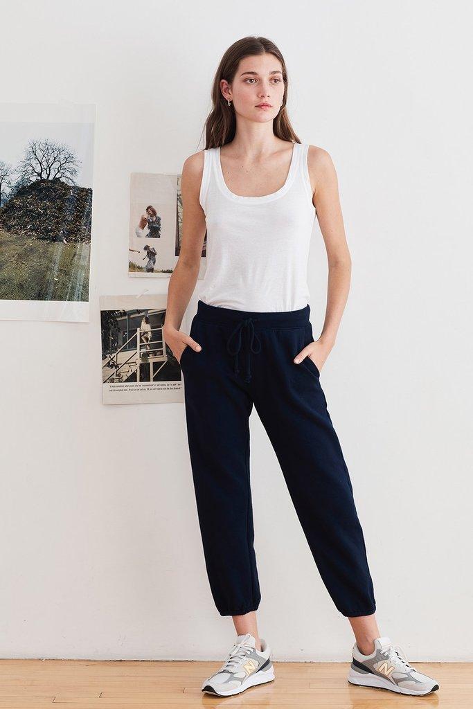 Velvet Velvet  Daphne Navy Cuffed Sweatpants