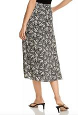 Velvet Velvet Printed wrap skirt with side tie