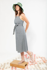 Carleen Carleen Louise Striped Wrap Dress