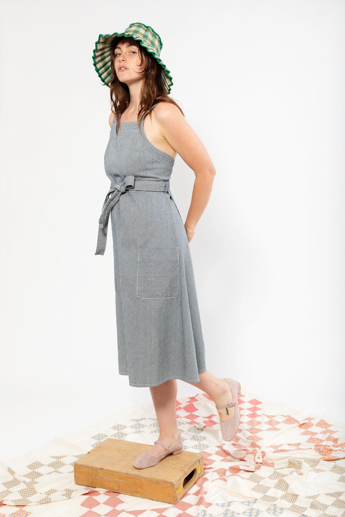 Carleen Carleen Louise Striped Wrap Dress